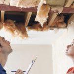 maison avec un vice caché dans plafond