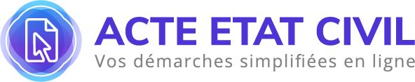 logo du site acte civil en ligne